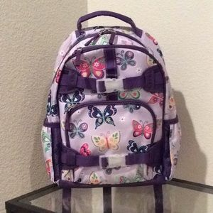 NWOT Kid size purple butterfly 🦋 backpack